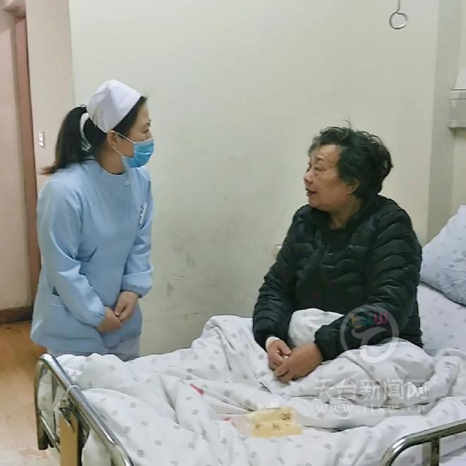 护士蒋津津 百姓身边的活雷锋